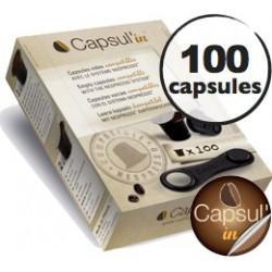 capsul-in vide pour machine Nespresso