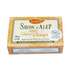 Savon Alep Fleurs d'Orangers