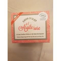 Savons d'Alep Bio Premium Argile Rose