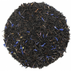Thé noir EARL GREY Fleurs Bleue